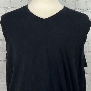 Banana Republic black sweater vest silk cashmere